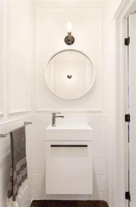 scaled  vanities  small baths