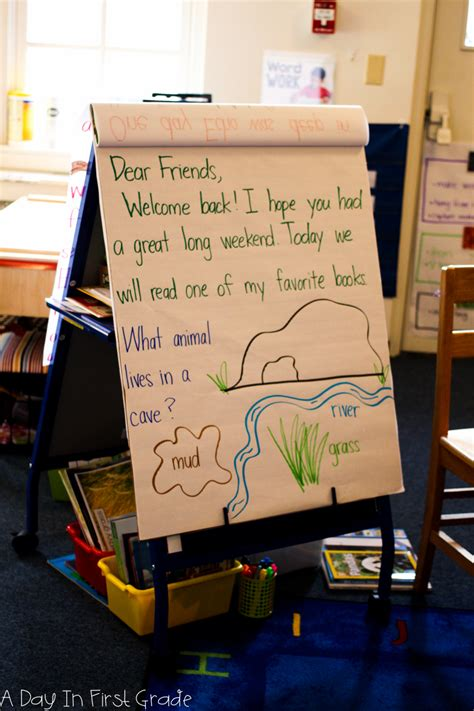 a day in grade how to set up a morning meeting in 660 | A Day In First Grade 28