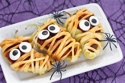 halloween rezept fuer eine schmackhafte vorspeise