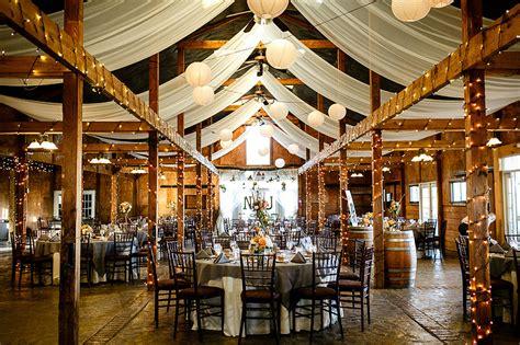traditional  rustic virginia wedding reception natalie