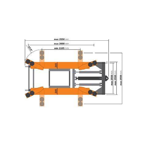 pont 233 l 233 vateur ciseaux mobile 2800 kg 220v sr