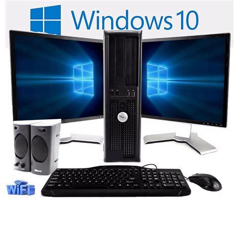 Dell Desktop Computer Pc Core 2 Duo 30ghz 8gb Ram 1tb