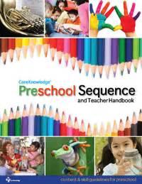 staff handbook for preschool teachers preschool sequence and handbook knowledge 673