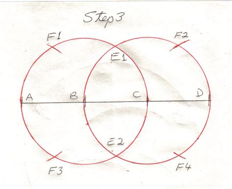 draw  perfect oval   pair  compass  sam
