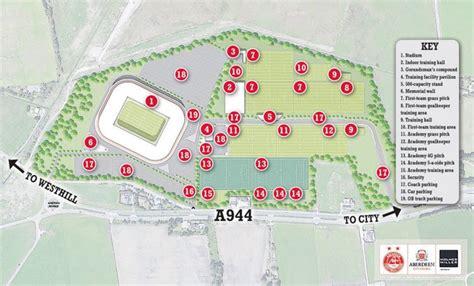 Projet de nouveau stade pour Aberdeen FC • OStadium.com