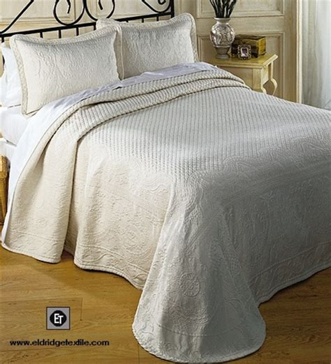 King Charles, Historic Charleston Collection, matelasse bedspread, coverlet, shams, 100% cotton