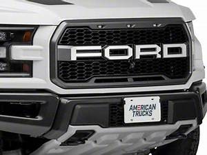 acc f 150 polished f o r d grille letters 772056 17 18 f With f250 raptor grille letters