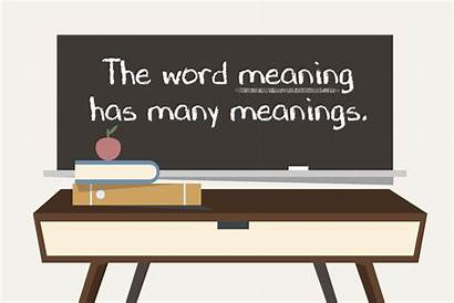 Sentence Polysemy Meaning Meanings Word Structures Grammar