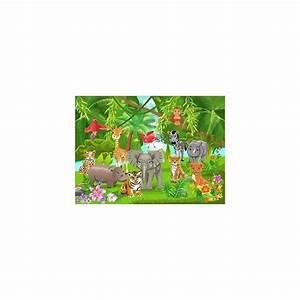 Papier Peint Geant : papier peint enfant g ant animaux savane 2014 stickers ~ Premium-room.com Idées de Décoration