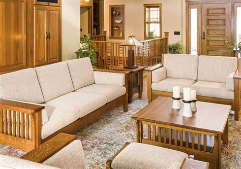pioneer mission living room furniture set