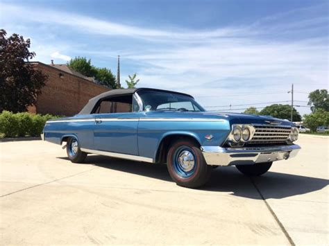 1962 Chevrolet Impala Ss Convertible  409 Tribute  4