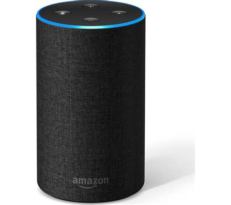 amazon echo charcoal fabric fast delivery currysie