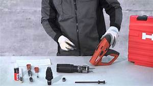 Hilti - How To Clean Your Hilti Dx 460  English