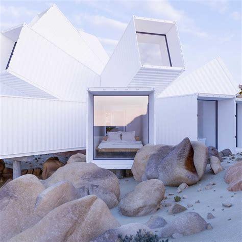 Moderne Häuser Technik by Luxus Haus Aus Schiffscontainern The Joshua Tree