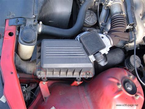 k n luftfilter reinigen bmw e36 tuning einbauanleitung luftfilter