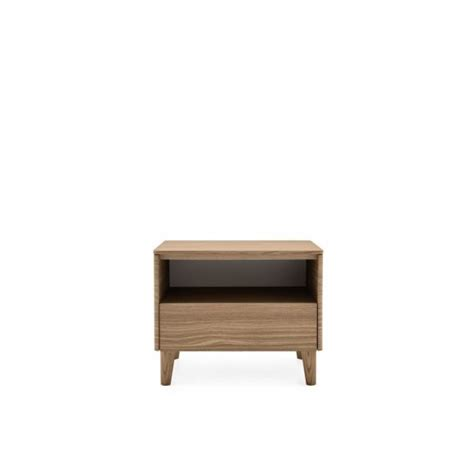 Compartment Nightstand by Boston Drawer Open Compartment Nightstand Calligaris