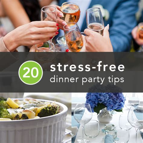 20 Tips To Throw The Best Stressfree Dinner Party Ever