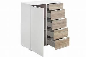 Commode Chambre Adulte : commode chambre adulte 1 porte 5 tiroirs cbc meubles ~ Teatrodelosmanantiales.com Idées de Décoration