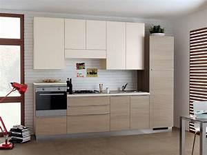 Cucina Color Ciliegio E Panna. Affordable Image May Contain Kitchen ...
