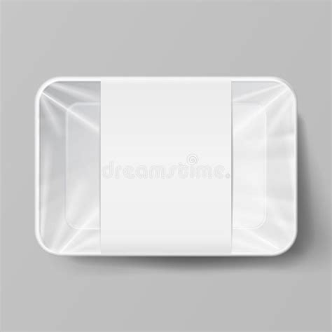 The entire library of our object mockups is at your disposal. Vector Empty White Styrofoam Plastic Food Tray Stock ...