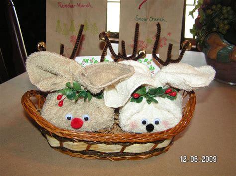 rudy trudy reindeer   soap  washcloths
