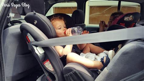 siege et vacances notre avis sur le siège auto joie every stage
