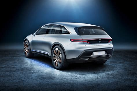 mercedes benz generation eq electric car rear