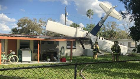 dead plane crashes winter haven home