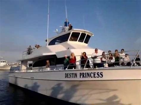 Destin Boat Charter by Charter Boat Destin Princess Receives Blessing 2013