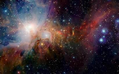 Nebula Space Neon Stars Horsehead Lights Desktop