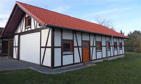 Garage Fachwerk Preis by Fachwerk Garage 18 Carport Beelitz