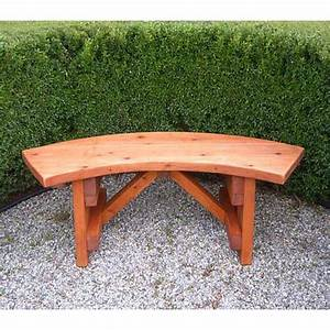 Curved Wooden Garden Bench Plans PDF Woodworking