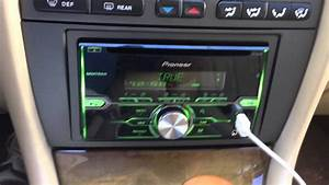 Jaguar X-type Radio Install With Pioneer Fh-x720bt