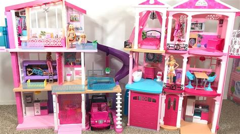 barbie dream house  kidkraft dollhouse thetoytreenet