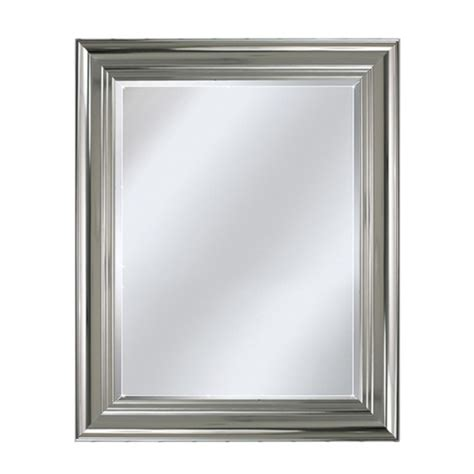 Chrome Framed Bathroom Mirror by Bathroom Wall Mirror Quot Polished Chrome Quot Bathrooms