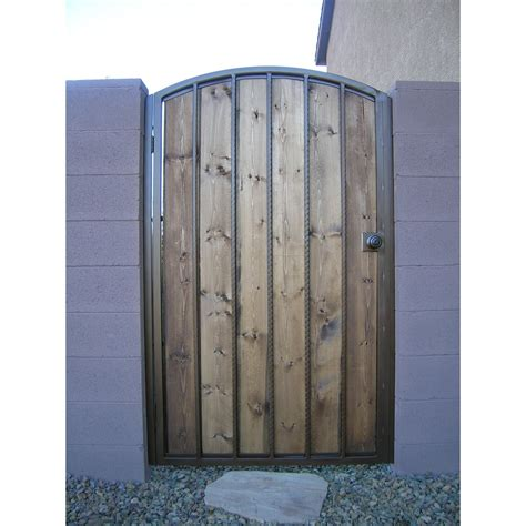 gates made of wood custom gates cutting edge metals inc