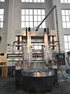 Dvt5235c Double Column Vertical Manual Lathe Machine With