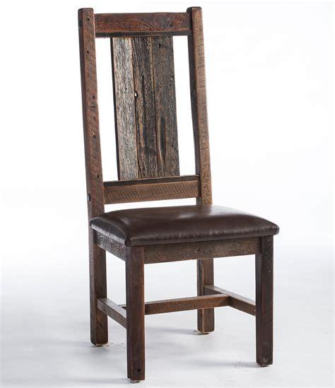 Reclaimed Barnwood Dining Chair  Barn Wood Dining Chair