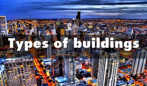 Types Of Buildings Classification Of Buildings Depending