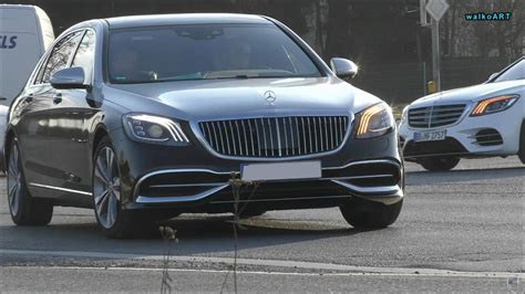 Mercedes S Class 2019 by 2019 Mercedes Maybach S Class Looks Majestic In The Real World