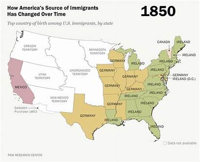Immigration America Interactive Law Map Change Face