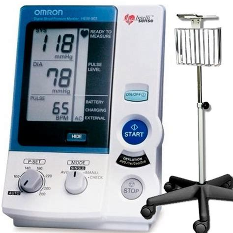 Omron HEM-907XL Pro Blood Pressure Monitor with Stand   B4