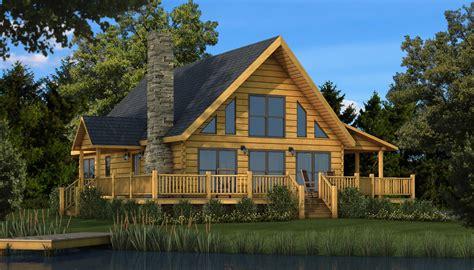 log cottage plans rockbridge plans information southland log homes