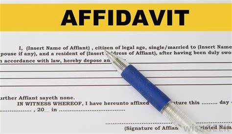 affidavit  residency  pictures