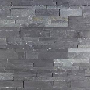 Plaquette De Parement Exterieur Pas Cher : parement en pierre ardoise grise p 2 3cm achat vente ~ Dailycaller-alerts.com Idées de Décoration