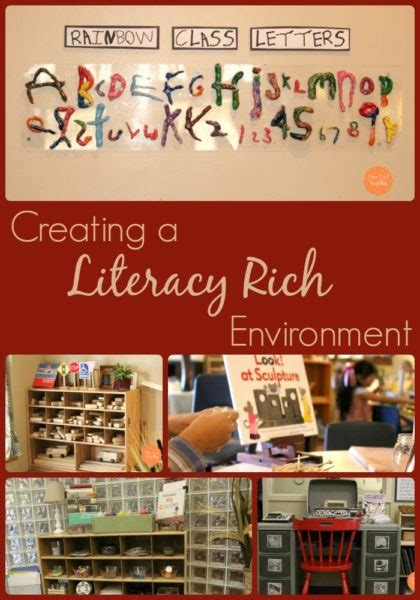 creating  literacy rich environment fairy dust teaching