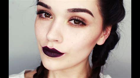 dark lips makeup tutorial youtube