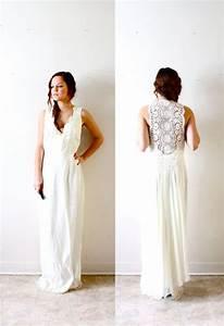 Etsy bohemian wedding dress wedding and bridal inspiration for Wedding dress etsy