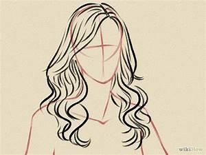 Draw Curly Hair   Hair steps