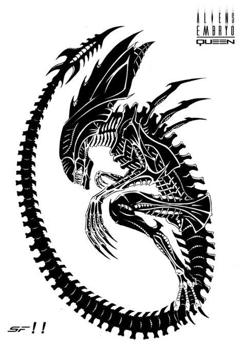 Alien Queen Embryo by Lordinator.deviantart.com on